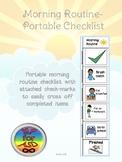 Morning Routine- Portable Checklist