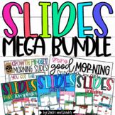 Good Morning Slides Editable GROWING BUNDLE