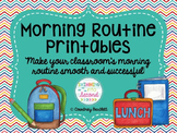 Morning Routine Printables