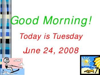 Morning Routine Slideshow