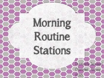 Morning Routine Stations
