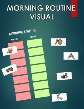 Morning Routine Visual