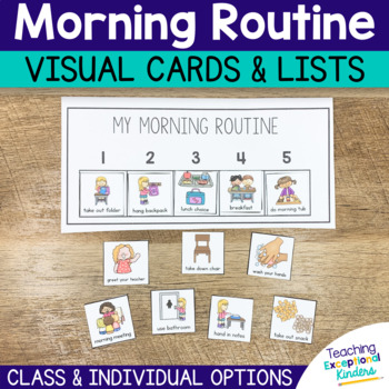 Morning Routine Visual Cards