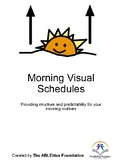 Morning Routine Visual Schedules for the Home