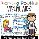 Morning Routine Visuals and Booklet