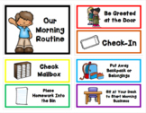 Morning Routine and Dismissal Routine Chart