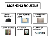 Morning Routine and Independent Work Visuals