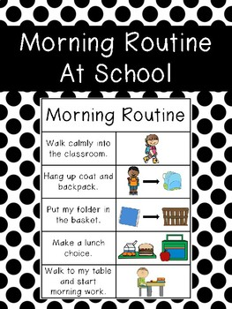 Morning Routine at School
