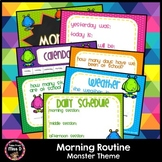 Morning Routine Monster