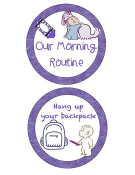 Morning Routine with Harold and the Purple Crayon
