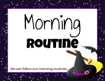 Morning Routines Posters (Harry Potter Theme)