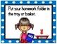 Morning Routines Task Card Reminders (Blue Polka Dots)