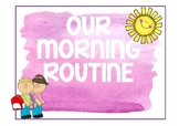 Morning Routines Visuals