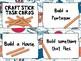 Morning STEM - Craft Stick Task Cards