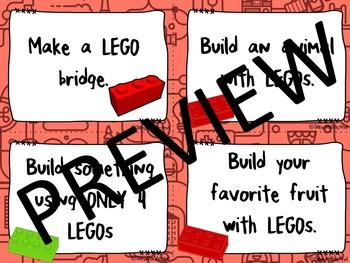 Morning STEM - LEGO Challenge Task Cards