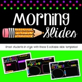 Morning Slides: Black and BRIGHTS
