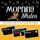 Morning Slides - Holiday Lights