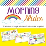 Morning Slides - Rainbow Theme