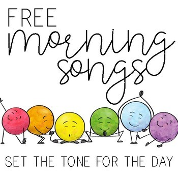Morning Songs FREEBIE