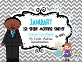 Morning Starter, Everyday Work {January}- Common Core Aligned