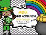 Morning Starter, Everyday Work {March}- Common Core Aligned
