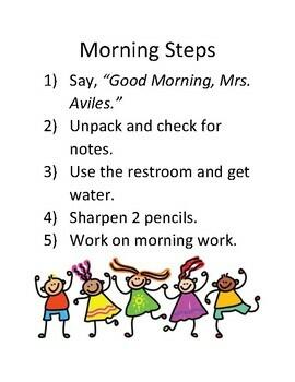Morning Steps Poster
