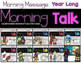 Morning Talk {Year Long Bundle}