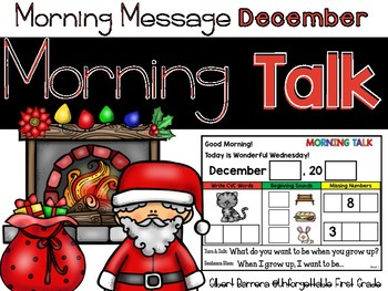 Morning Talk of December {Interactive Morning Message}