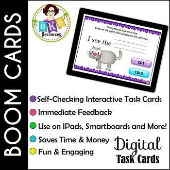 Morning Task Work ● Digital Task Cards ● Boom Cards ● Growing Bundle