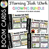 Morning Task Work ● Digital Task Cards ● Boom Cards ● Grow