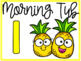 Morning Tub and Centers Labels - Fruit Theme