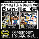 Morning Tub and Dough Mat Bundle