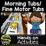 Morning Tubs or Fine Motor Tubs Pack