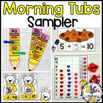 Morning Tubs Bundle Sampler