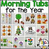 Morning Tubs Bundle for Kindergarten