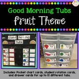 Morning Tubs - Fruit Theme