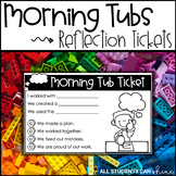 Morning Tubs {Reflection Tickets} FREEBIE