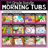 Morning Tubs for Second Grade Year Long Bundle
