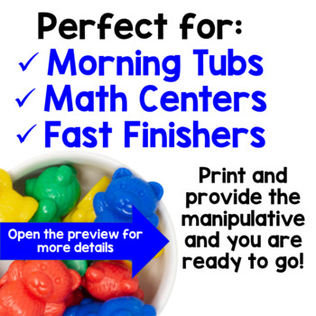 Morning Tubs with Counting Bears
