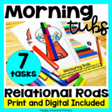 Morning Tubs | Math Centers with Relational Rods | Digital
