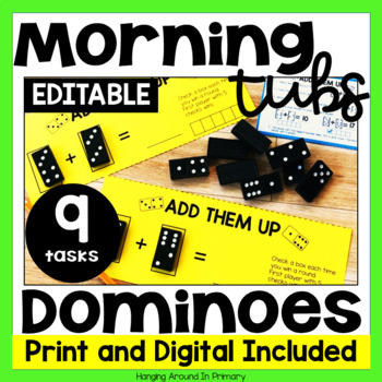 Morning Tubs with Dominoes