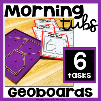Morning Tubs with Geoboards