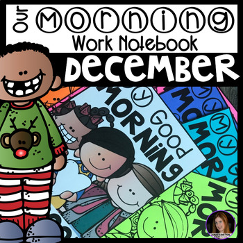 December Morning Work Notebook Unit 4 for Kindergarten