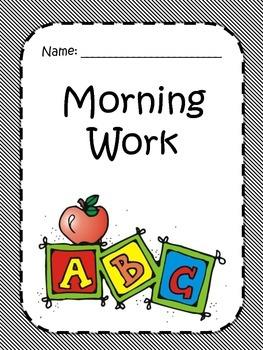 Morning Work 2- First Grade