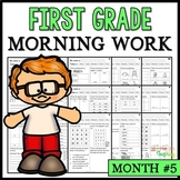 Month #5 Morning Work: First Grade Morning Work Packet