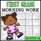 Month #6 Morning Work: First Grade Morning Work Packet