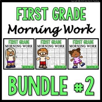 Bundle #2 Morning Work: First Grade Morning Work