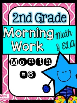 Morning Work for 2nd Grade Math and ELA