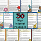 30 November Daily Reading Passages - Google Classroom Activities & Pdfs