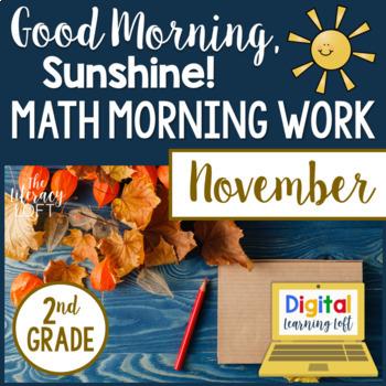 Morning Work 2nd Grade {November}